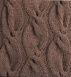 Beautiful lace and cable stitches. Google translate does well with this site and it nicely readable.