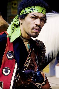 Jimi Hendrix photographed by Ed Thrasher, 1969.