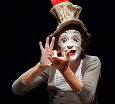 Artist who revived art of mime dies in Paris at age Israeli singer and Marceau Marcel, Joker, Singer, Actors, Artist, Fictional Characters, Hands, French, Frases