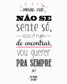 Música: Emicida - Ela Diz  #Design #Cartaz #Poster #Decor #Amor #Emicida #Musica