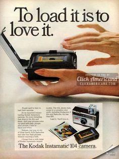 The Kodak Instamatic 104 camera (1961)