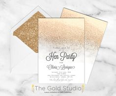 White and Gold glitt