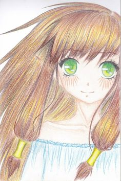 Рисунки аниме девушек