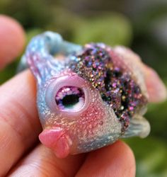 Hey, I found this really awesome Etsy listing at https://www.etsy.com/listing/562686755/rainbow-fish-pendant-necklace-handmade