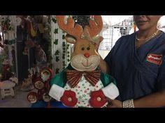 DIY Forro para sillas Navideño - Omaira Tv - YouTube Primitive Doll Patterns, Teddy Bear, Christmas Ornaments, Christmas Ideas, Dolls, Holiday Decor, Animals, Youtube, Video Clip