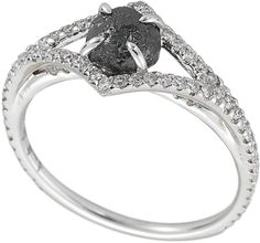 Beautiful... Victorian Rough Diamond Engagement Ring 3D250-1.26 | Diamond in the Rough - The Original Diamond