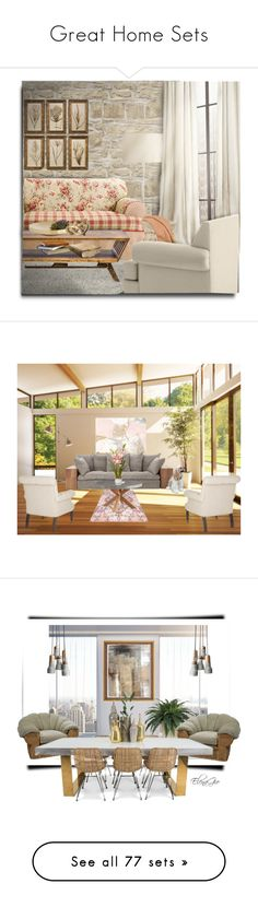 """""""Great Home Sets"""" by beautymanifesting ❤ liked on Polyvore featuring interior, interiors, interior design, home, home decor, interior decorating, Scapa Home, Sure Fit, MODERNCRE8VE and Interlude"""