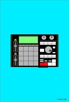 #mpc1000 #akai #undergroundmusic #popart #beats