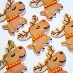 Cute Reindeer Cookie Cutter This Cute Reindeer cookie cutter comes in mini, standard and large (2-inches, 3-inches and 4-inches respectively). Buy the All Sizes Set to have an entire collection! The s