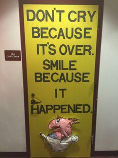 Dr Seuss / door decoration