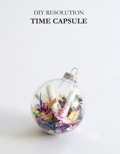 DIY - Resolution Time Capsule