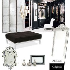 Hollywood Glamour Dressing Room by Abigail Norris, Abigail Norris