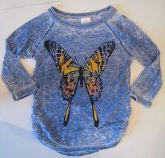 Annie Movie 2014 Original Wardrobe For Annie Quvenzhane Wallis Butterfly shirt