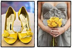 bride yellow shoes - Google Search