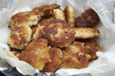 Chicken Tortas - A Chicken nugget allergy-free alternative... even corn free!