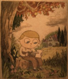 Original Wirt design. His name was actually Walter... - Patrick McHale