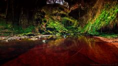 Red river Finnich glen Scotland