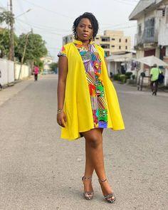 African Fashion Ankara, African Print Fashion, African Attire, African Wear, African Print Dress Designs, Short African Dresses, Casual Work Outfits, Ankara Styles, Women's Fashion Dresses