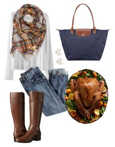 """Happy Thanksgiving!!"" by sjkish on Polyvore featuring J.Crew, Bandolino, Tiffany & Co. and Longchamp"