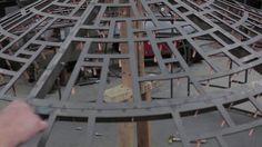 TOM FRUIN Steel watertower with plexiglas steel glass construction in Brooklyn.