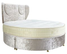 Yes - Sleep around in style, a bed for the stars. Handmade beds Manchester quality assured by Purr-O-Lux. True craftsmanship Circle of Dreams Wow Factor, Wow Products, Bedroom Inspiration, Fabric Covered, Knitted Fabric, Bassinet, Mattress, Beds, Ottoman