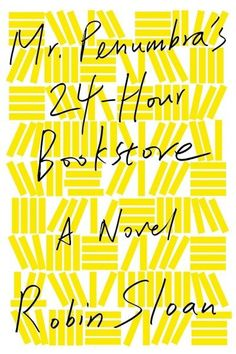 Mr. Penumbra's 24-Hour Bookstore, by Robin Sloan, is the April pick for the Dover Public Library's Book Group. Described as warm, funny, charismatic and convoluted this book should make for good discussion.  Join us on Monday, April 18 at 6:30.  All are welcome!