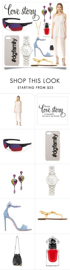 """Youth to Fashion"" by denisee-denisee ❤ liked on Polyvore featuring Lioness, Under Armour, Dolce&Gabbana, Erickson Beamon, Marc Jacobs, Oscar Tiye, Chanel, Guerlain and Vanessa Mooney"