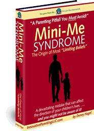 "Pin It to Win It! Leave comment for a chance to win a FREE copy! Winner chosen 6/11/12 @10:00 pm ET! Get ready -set-PIN!  ""Mini-Me Syndrome"" If you have ever wondered how limiting beliefs begin this is a must read. With this information you can protect your children from being at risk of developing negative beliefs that will interfere with their ability to create the life they desire now and when they reach adulthood. A great find from @Denny Hagel #pinit2winit"