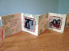 Accordion Mini-Book or Card ~ An Artful Mom