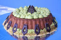 chocolate pistachio cake (yvette van boven)
