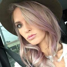 "Audrina Patridge Dyes Her Hair ""Dusty Violet""—See Her New Lavender Locks!  Audrina Partridge, Hair"