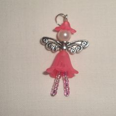 "fairy crafts | Folksy :: Buy ""Tiny Flower fairy - Pnk"" 