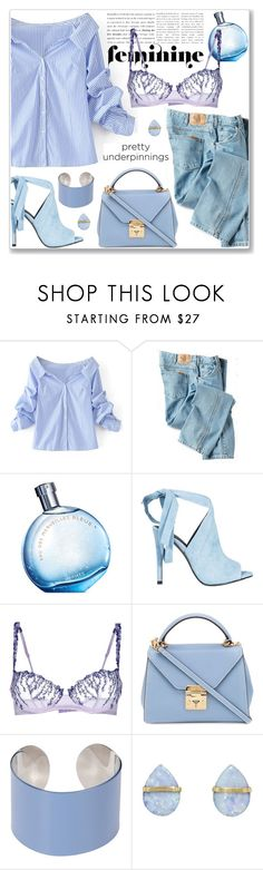 """The Prettiest Underpinnings"" by jecakns ❤ liked on Polyvore featuring WithChic, Dickies, Hermès, Kendall + Kylie, La Perla, Mark Cross, Maison Margiela, Melissa Joy Manning and prettyunderpinnings"