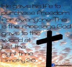 1Timothy 2:6