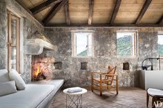 Architect Steven Harris And Interior Designer Lucien Rees Roberts Create An Idyllic Oasis In Croatia Photos | Architectural Digest