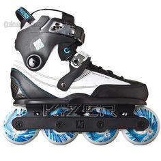 Razors SL Yuri Botelho 2 Pro aggressive skates complete setup
