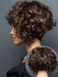 Photo: Look 2019 with short hair - - Photo: Look 2019 with short .- Foto: Look 2019 mit kurzen Haaren – – Foto: Look 2019 mit kurzen Haaren – – … Photo: Look 2019 with short hair – – Photo: Look 2019 with short hair – – - Haircuts For Curly Hair, Curly Hair Cuts, Wavy Hair, Short Hair Cuts, Bob Hairstyles, Curly Hair Styles, Natural Hair Styles, Braided Hairstyles, Updo Curly