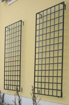 contemporary metal garden trellis - Google Search