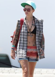 Pin for Later: Ruby Rose Shows Off Her Killer Bikini Body During a Getaway to Ibiza