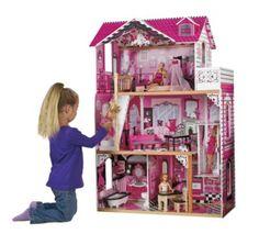 Wooden Dollhouse Modern Luxury And Dollhouse Toys On Pinterest