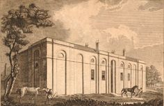 Royal Veterinary College Camden - Drawing dated 1791 Veterinary Colleges, Camden, Painting, Art, Art Background, Painting Art, Kunst, Paintings, Performing Arts