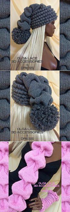 Вязание Клоке-ХИТ ЭТОГО СЕЗОНА!!! / Вязание спицами / Вязание для женщин спицами. Схемы