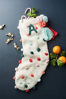 12 Christmas Gifts for Your Friend Who Eats, Sleeps, and Breathes Anthropologie - Christmas Christmas Gift For You, Noel Christmas, All Things Christmas, Winter Christmas, Christmas Crafts, Christmas Decorations, Holiday Decor, Xmas, Cute Christmas Stockings