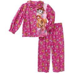 Girls Paw Patrol 2pc Flannel Pajama's Set Brand New with Tags!! Size 4T Cozy!! #Nickelodeon #PajamaSet