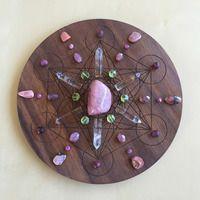 'Love' Crystal Grid