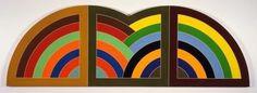 Frank Stella, Damascus Gate II, 1968.