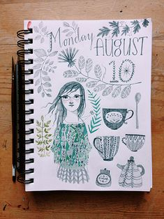 Abigail Halpin Visual Journal / Sketchbook
