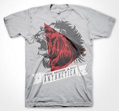 The Lion t-shirt design