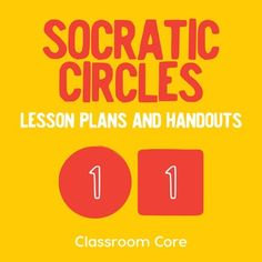 Homeschool colors and activities on pinterest for Socratic seminar lesson plan template