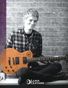 Luna Guitars Apollo Peace